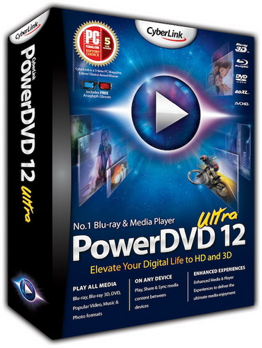Скачать Бесплатно CyberLink PowerDVD Ultra Rus 12.0.8680.1312 Retail Multilanguage